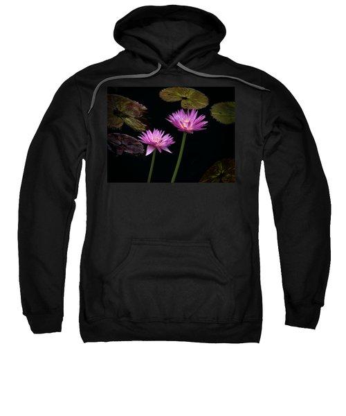 Lotus Water Lilies Sweatshirt