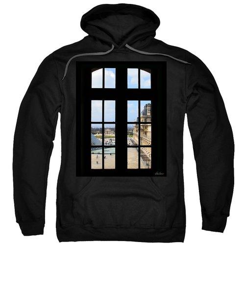 Louvre Window Sweatshirt