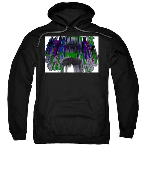 Melted Crayons Sweatshirt