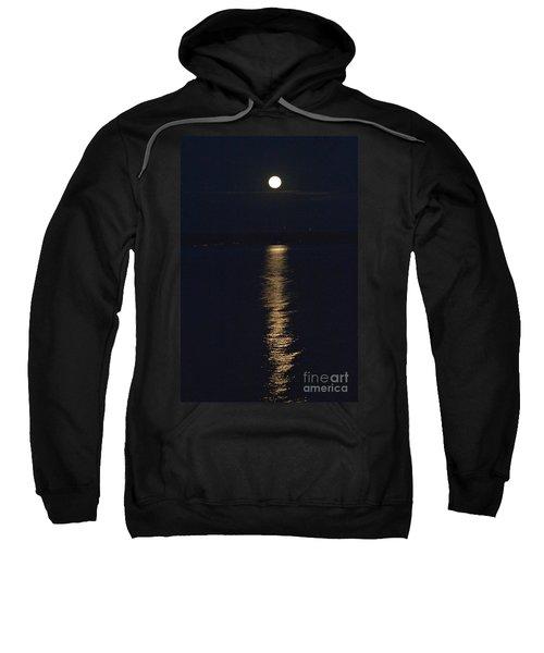 Moon Over Seneca Lake Sweatshirt