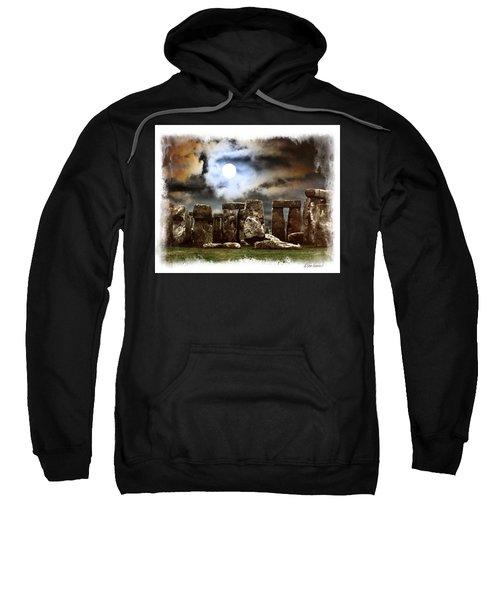 Moon Over Stonehenge Sweatshirt