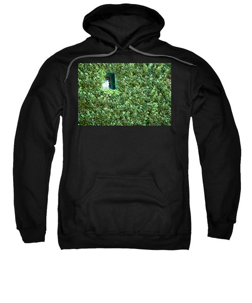 Napa Wine Cellar Window Sweatshirt