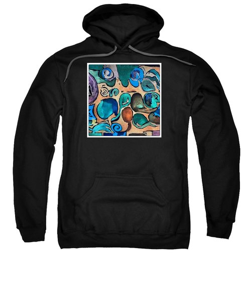 Circles Of Colors.... Sweatshirt