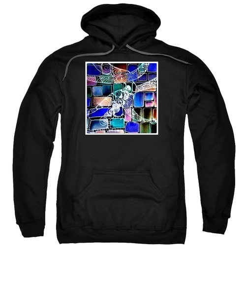 Painting The Old Bricks With Happiness Sweatshirt