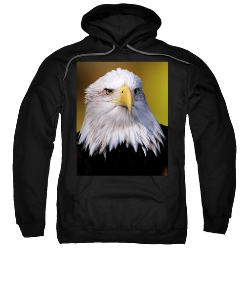 Portrait Of A Bald Eagle Sweatshirt