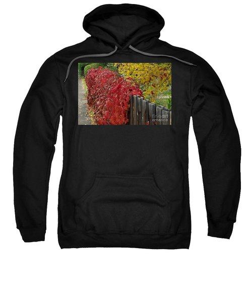 Red Fence Sweatshirt
