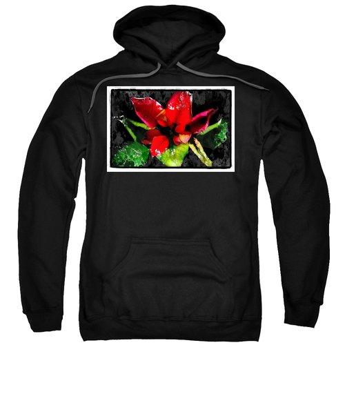 Red Leaves Sweatshirt