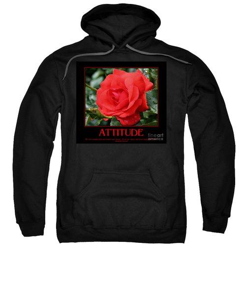 Red Rose Attitude Sweatshirt