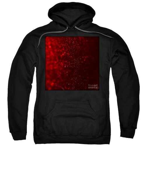 Red Sparkle Sweatshirt