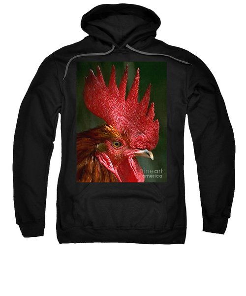 Rooster - Painterly Sweatshirt