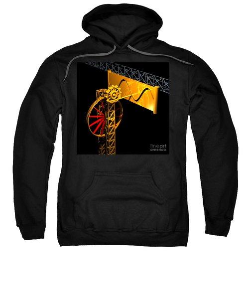 Sine Wave Machine Sweatshirt