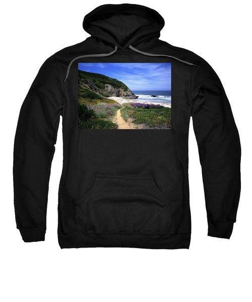 Springtime Trail  Dana Point Headlands Sweatshirt