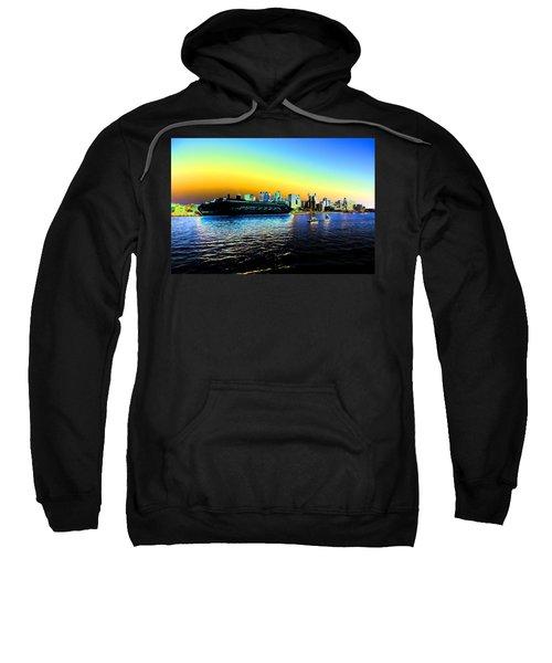 Sydney In Color Sweatshirt by Douglas Barnard