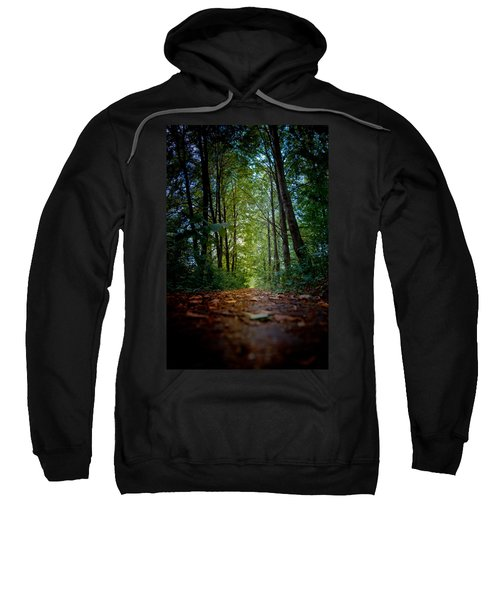 The Pathway In The Forest Sweatshirt