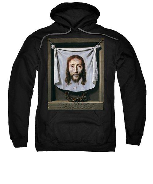 The Shroud Of St Veronica Sweatshirt