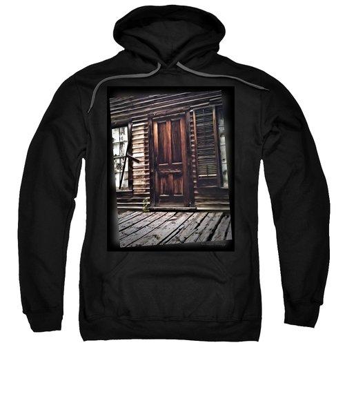 Virginia City Ghost Town Door I Sweatshirt