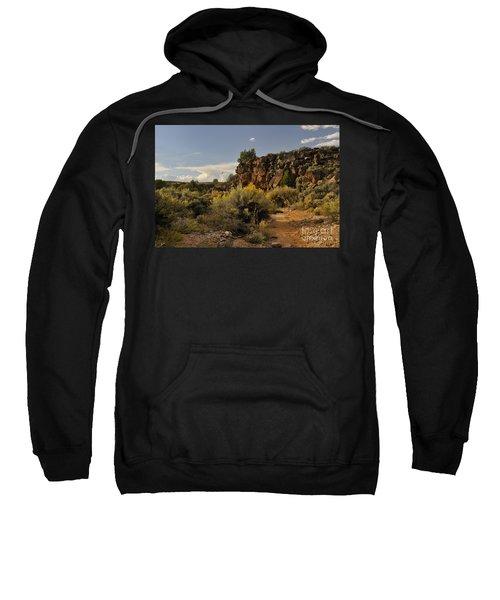 Westward Across The Mesa Sweatshirt
