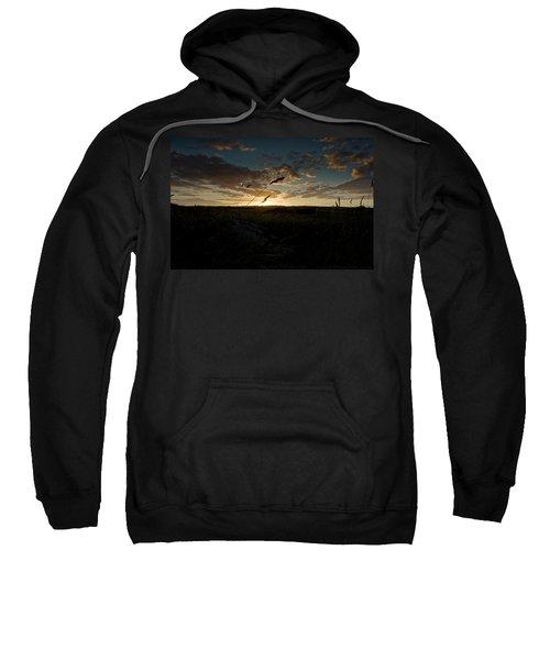 Wheat Fields  Sweatshirt