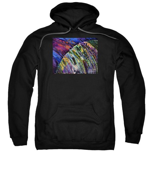 World In A Spin Sweatshirt