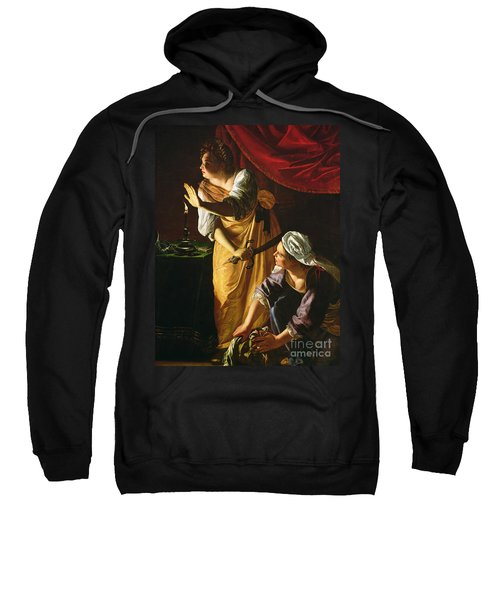 Judith And Maidservant With The Head Of Holofernes Sweatshirt
