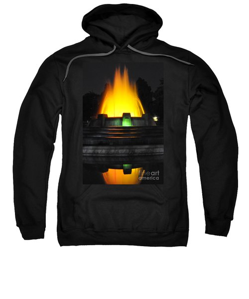 Mulholland Fountain Reflection Sweatshirt