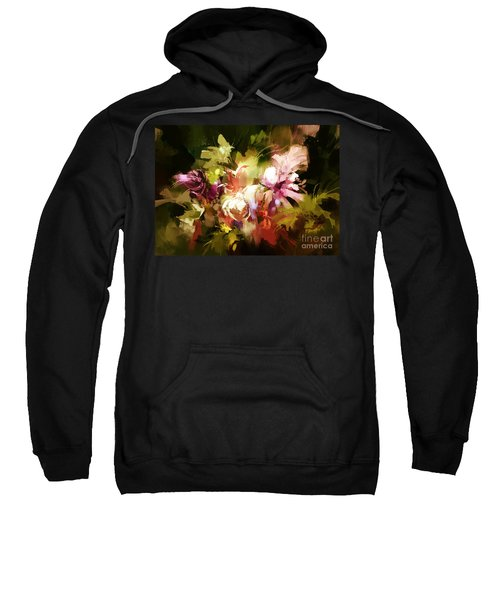 Abstract Flowers Sweatshirt