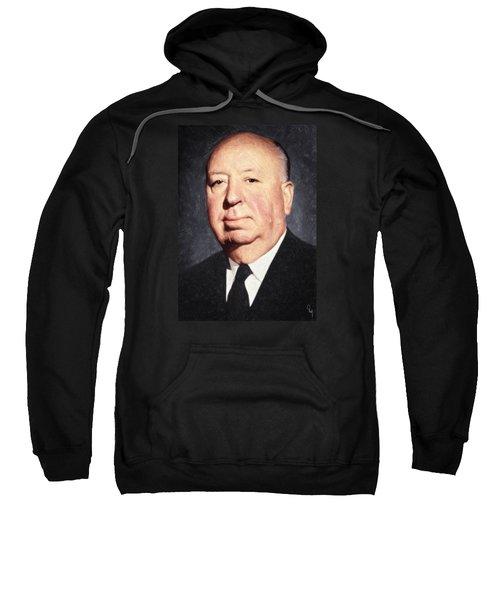 Alfred Hitchcock Sweatshirt by Taylan Apukovska
