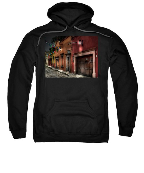 1 A.m. Street Photo Sweatshirt
