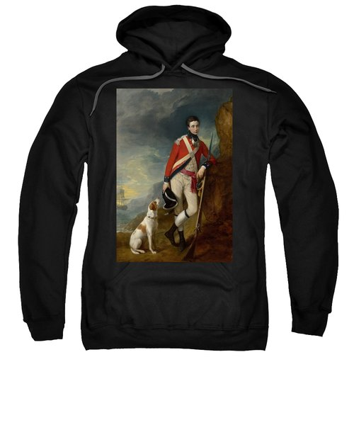 An Officer Of The 4th Regiment Of Foot Sweatshirt