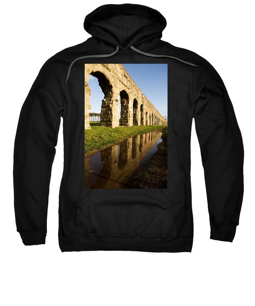 Aqua Claudia Aqueduct Sweatshirt