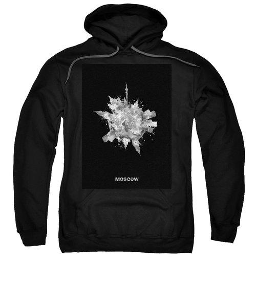 Black Skyround Art Of Moscow, Russia Sweatshirt