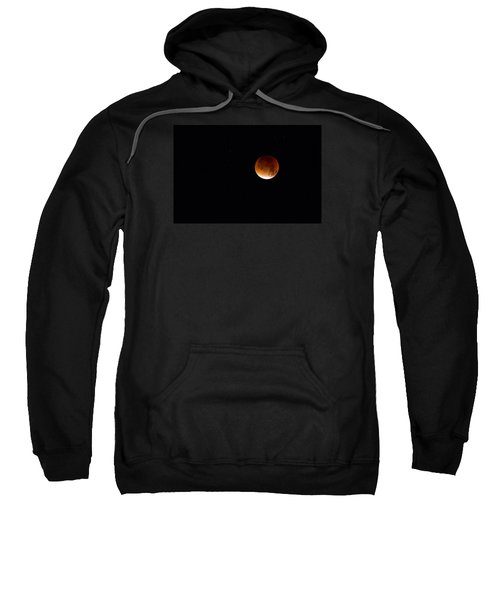 Blood Moon Super Moon 2015 Sweatshirt