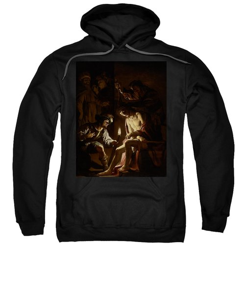 Christ Crowned With Thorns Sweatshirt