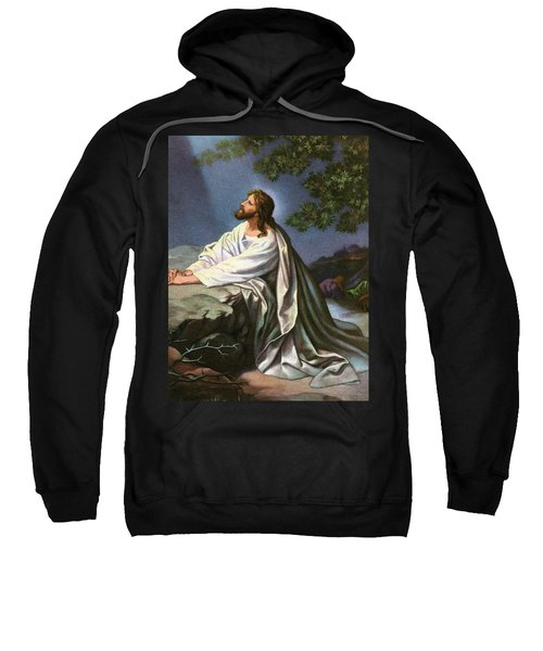 Christ In The Garden Of Gethsemane Sweatshirt