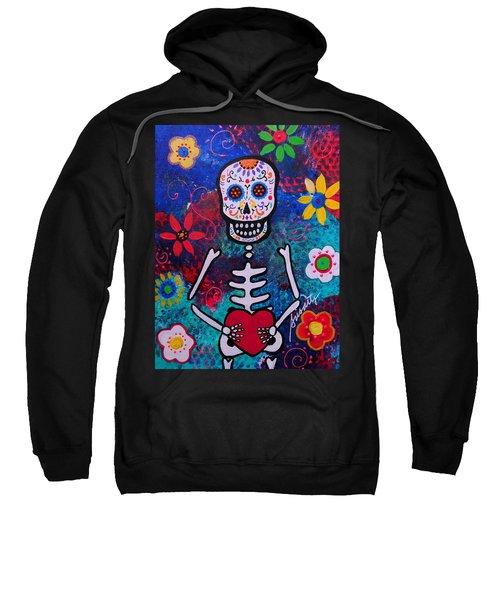 Corazon Day Of The Dead Sweatshirt