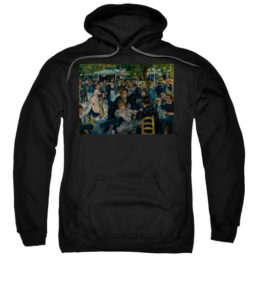 Dance At Le Moulin De La Galette  Sweatshirt