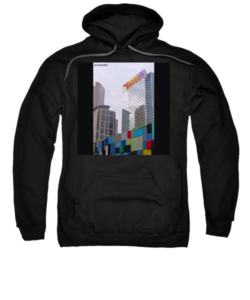 #downtown #houston From #discoverygreen Sweatshirt