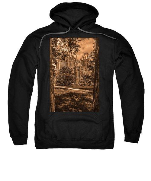 Duke Chapel Sepia Sweatshirt