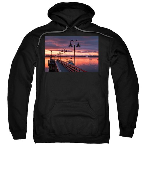 Falmouth Town Landing Sunrise Sweatshirt