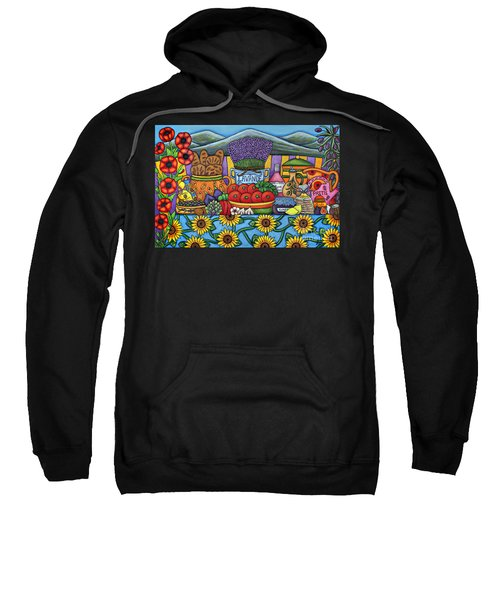 Flavours Of Provence Sweatshirt