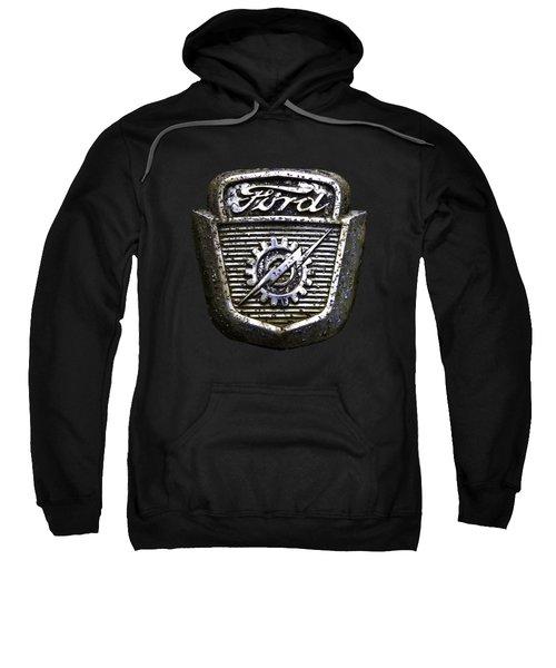 Ford Emblem Sweatshirt by Debra and Dave Vanderlaan