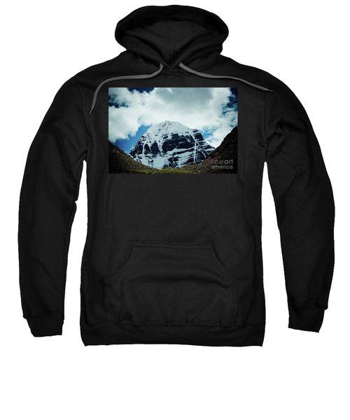 Holy Kailas North Slop Himalayas Tibet Artmif.lv Sweatshirt