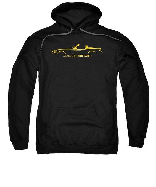 Italian Roadster Silhouettehistory Sweatshirt by Gabor Vida