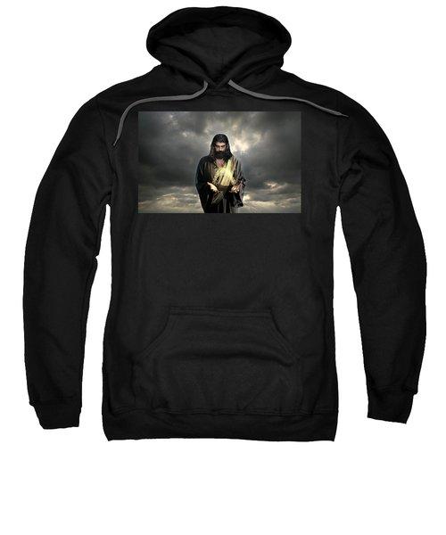 Jesus Christ- Look I Am Coming Soon Sweatshirt
