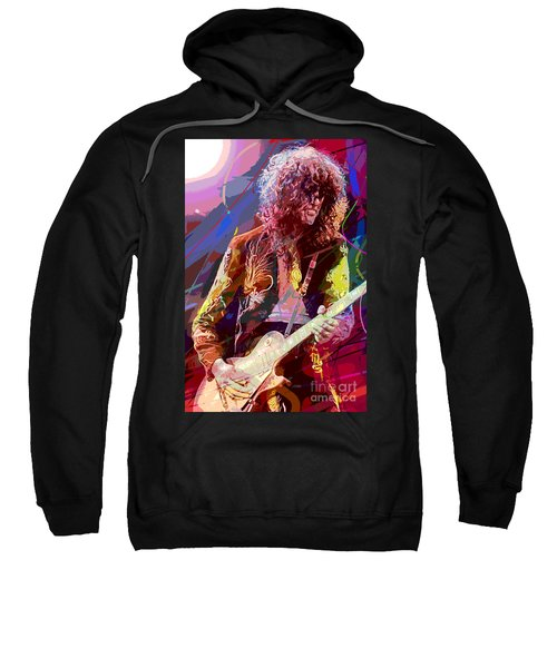 Jimmy Page Les Paul Gibson Sweatshirt
