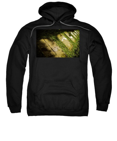 Light Footsteps In The Garden Sweatshirt