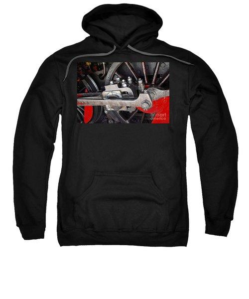 Locomotive Wheel Sweatshirt