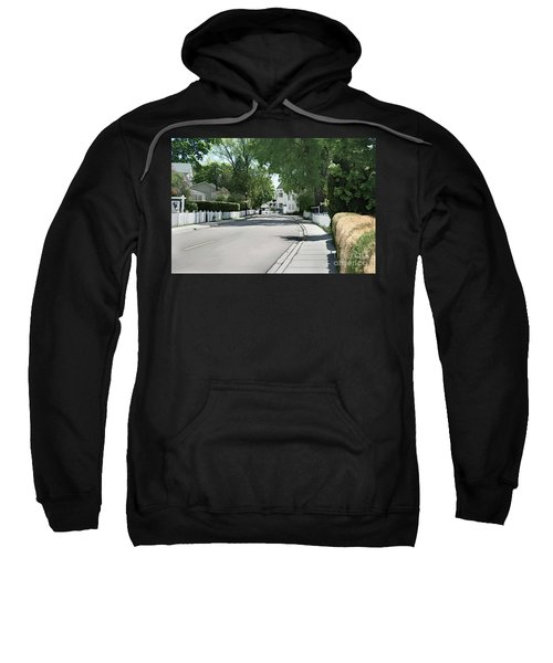 Mackinac Island Street  Sweatshirt