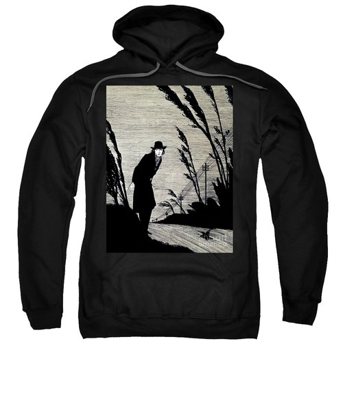 Midst Of All Was A Cold White Face Sweatshirt