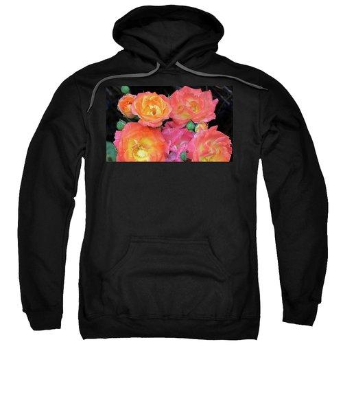 Multi-color Roses Sweatshirt
